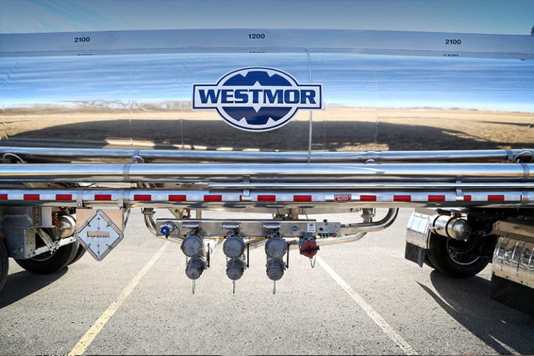 80K Transporter features 4 loading & discharge connections | Westmor