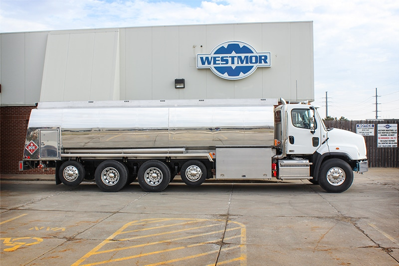 DEF Underbody Delivery System RBT Refined Fuel truck by Westmor