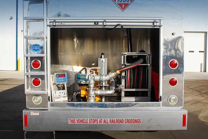 DTL Refueler - rear delivery option by Westmor