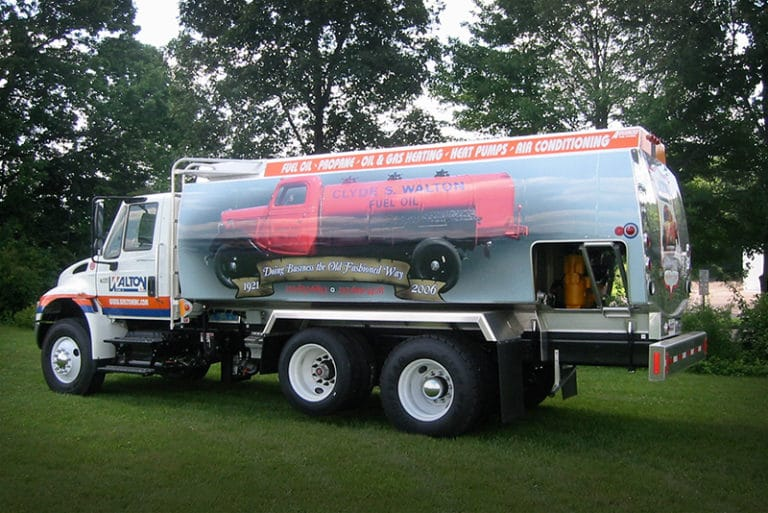 FCT Refined Fuel Truck Custom Canopy Opening | Westmor