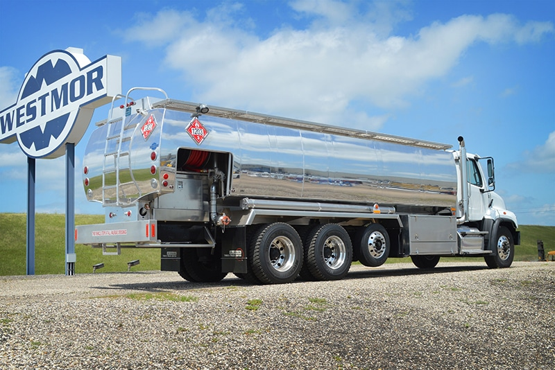 FCT (Full Canopy) refined fuel truck by Westmor
