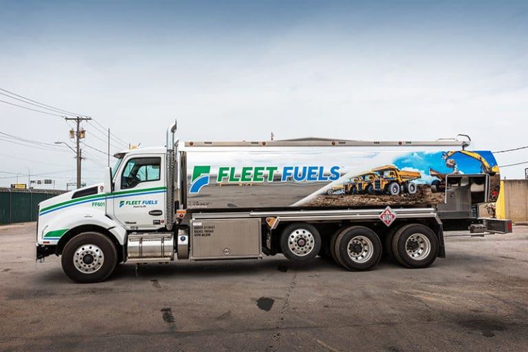 FCT Refined Fuel Truck with Custom Wrap | Westmor