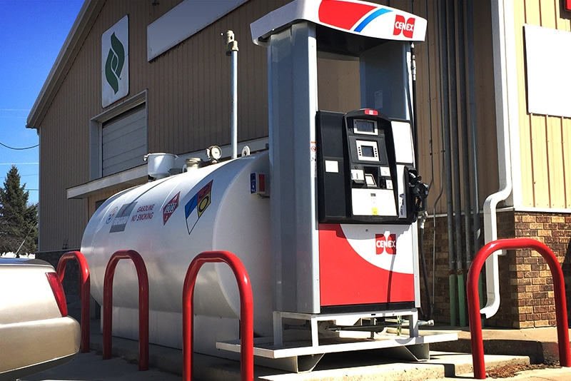 Fleet Fueling Systems- Self-Contained tank and pump fireguard by Westmor