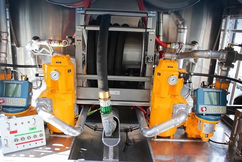 Flex Fill RF-L large bulk deliveries by Westmor