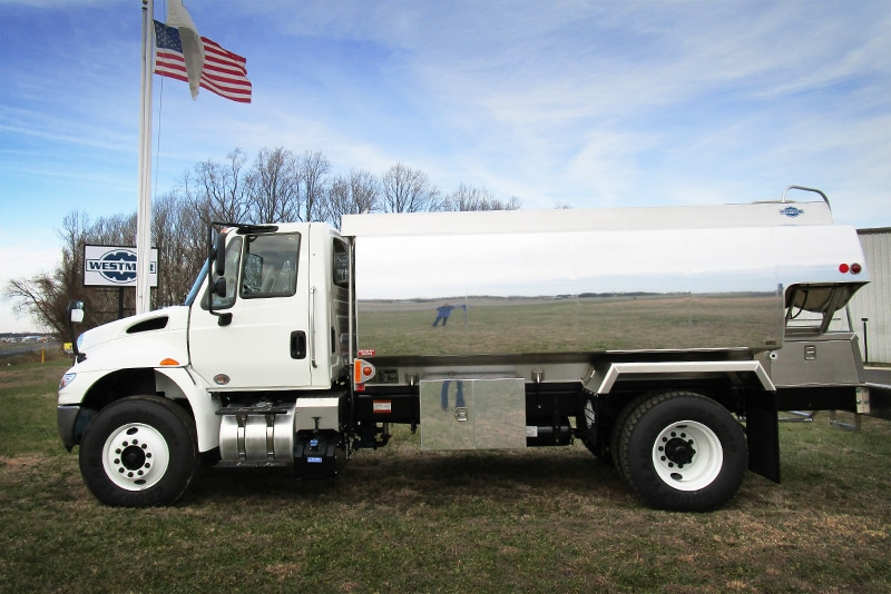 Half Canopy Refined Fuel Truck by Westmor