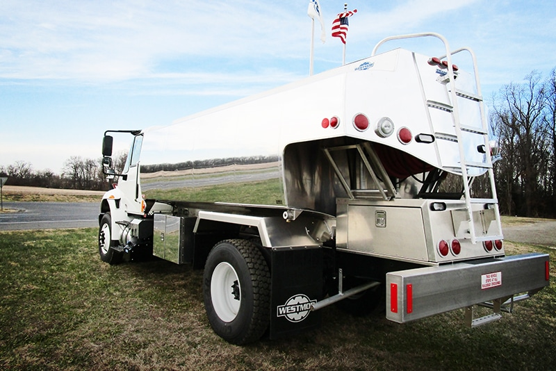 Half-Canopy Refined Fuel Truck by Westmor