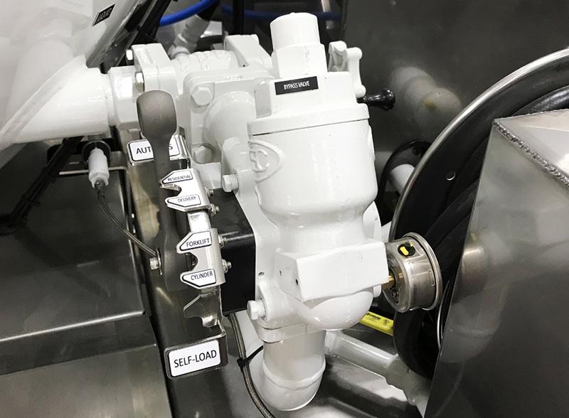 LP3 Versa-Fill bypass valve closeup by Westmor