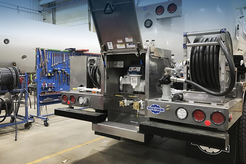 LP3 Delivery System on Blueline Bobtail from Westmor