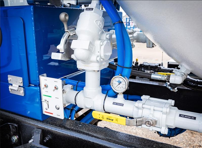 LP4 Versa-Fill bypass valve closeup by Westmor