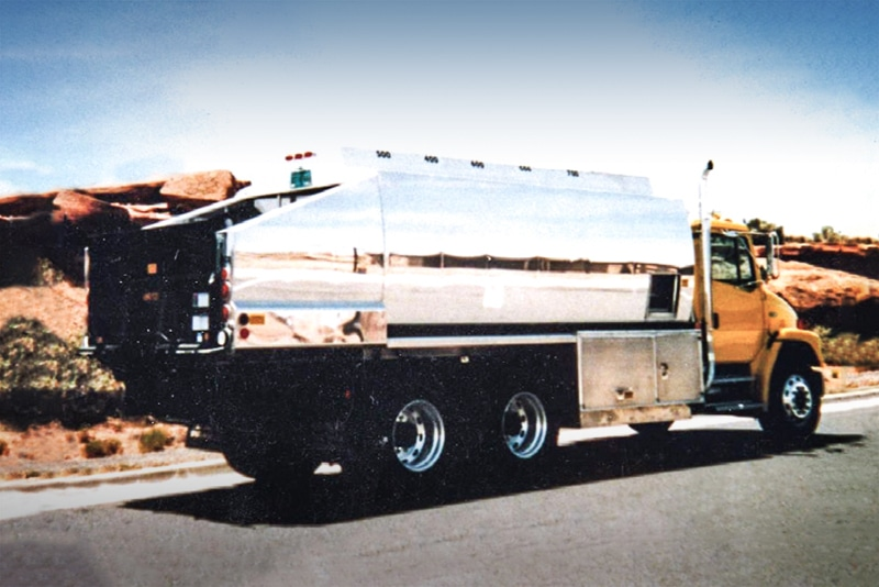 LubeAll Refined Fuel Truck by Westmor