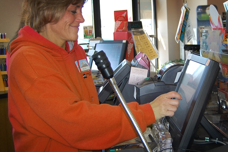 POS System Clerk at C-Store Register | Westmor