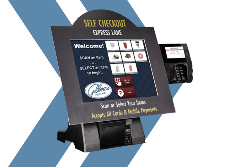 POS systems Passport Express Lane self-checkout by Westmor