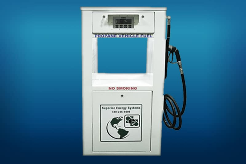 PRO-Vend2000 dispenser on blue Superior Energy Systerms brand | Westmor