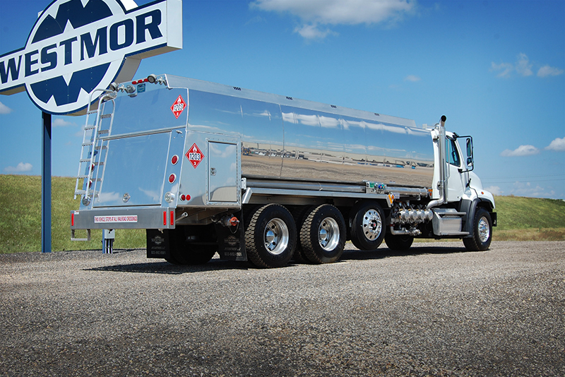 RBT 4500-refined fuel truck tank by Westmor