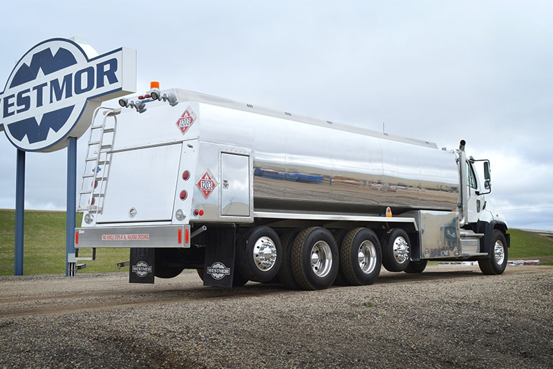 RBT 5600 gallon refined fuel truck by Westmor