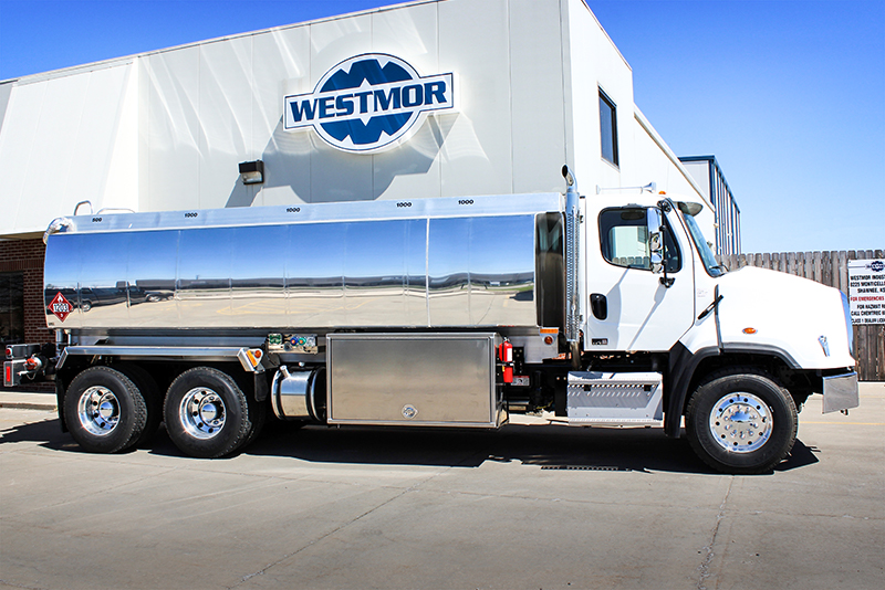 SDT Refined Fuel Truck by Westmor Industries