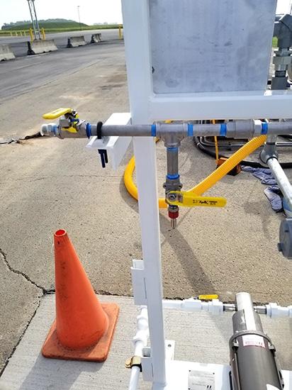 additive injector skid - bazooka injector - by Westmor