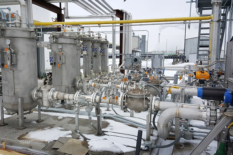 biofuel additive injection skid CIE site by Westmor