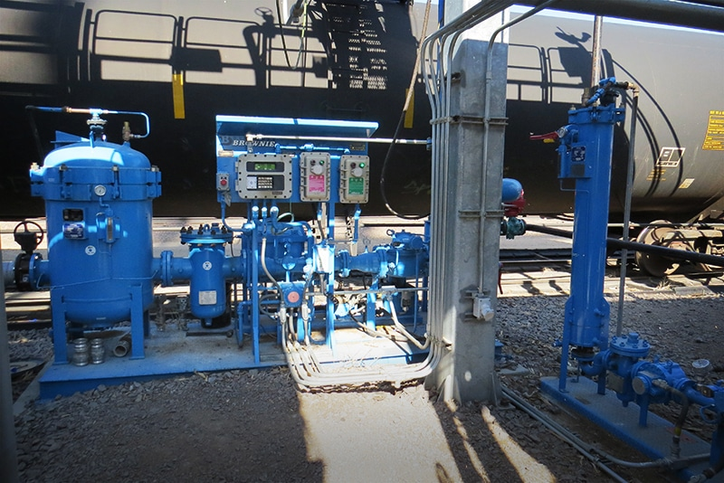 Blending Skid for Rail Loading | Westmor Industries