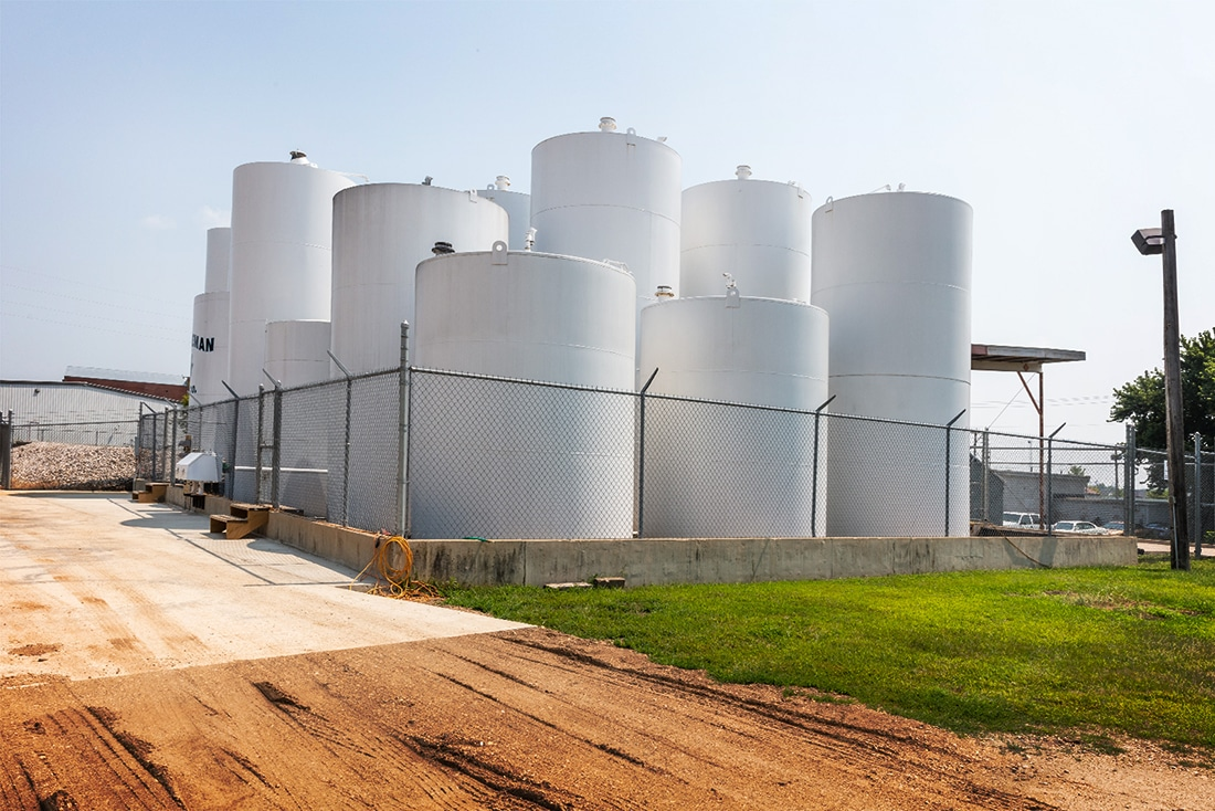 Bulk Refined Fuel Storage by Westmor Industries