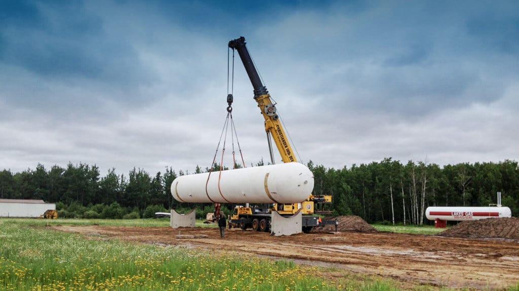 Bulk Storage Installation by Westmor Industries