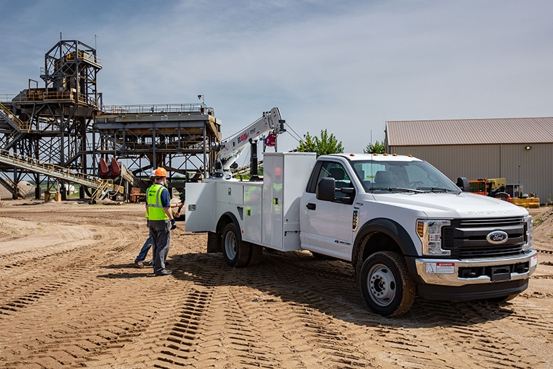 Class 5 Crane Service Truck by Westmor Industries