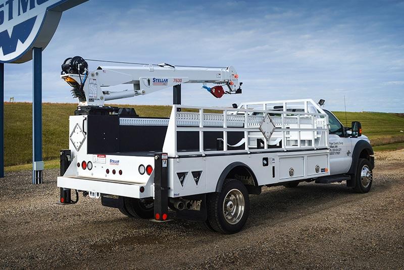 Stellar TMAX LP Crane Service Truck | Westmor