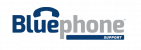 bluephone support logo blue-gray 400