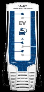 dispenser EV charging back of pump by Westmor