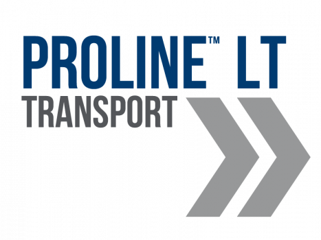 proline LT logotype with chevrons