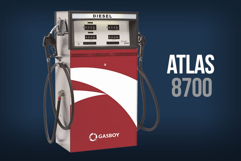 Atlas 8700 Fuel Dispenser | Westmor
