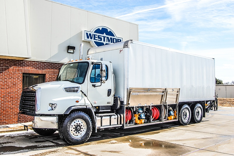 lube truck - tower design by Westmor
