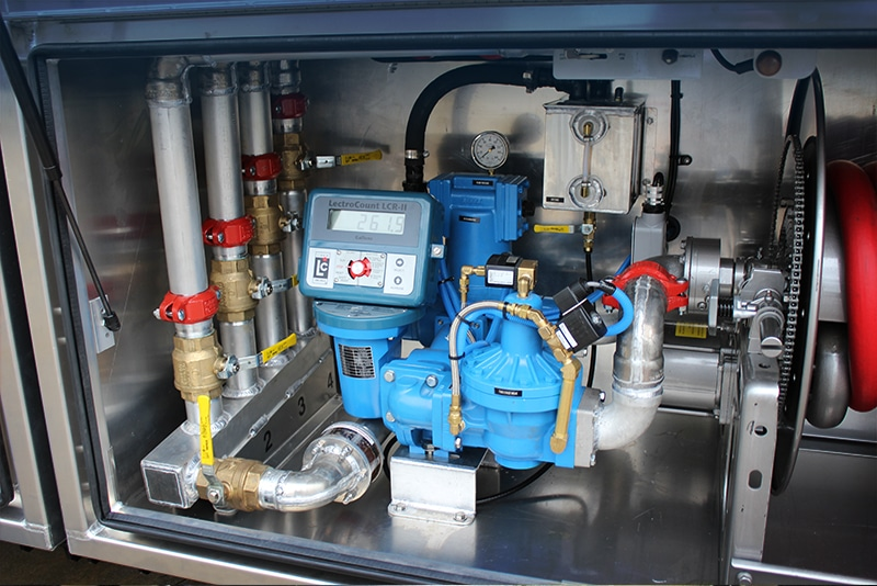 Lube Van Manual Manifold System by Westmor