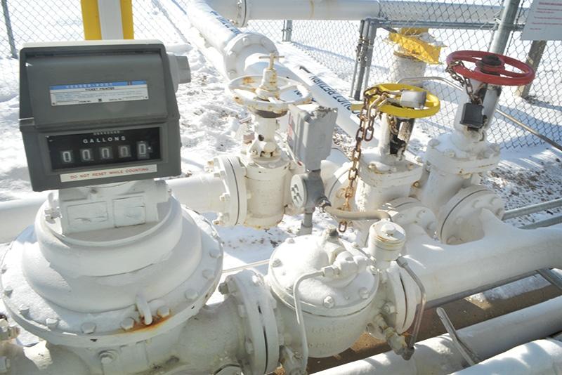 Meters at a Terminal | Westmor Industries