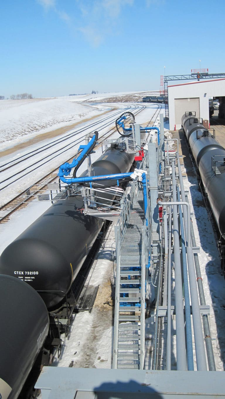 Rail Loading & Unloading Arms by Westmor Industries