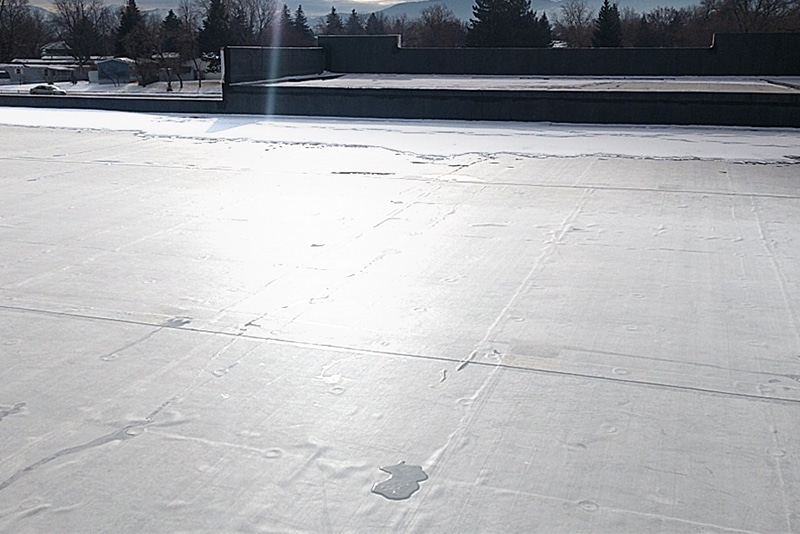 reflective roof coating 2 by Westmor