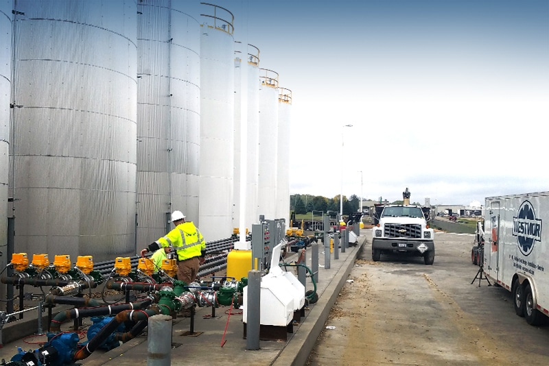 Service & Repair Support at Terminals & Plants by Westmor Industries