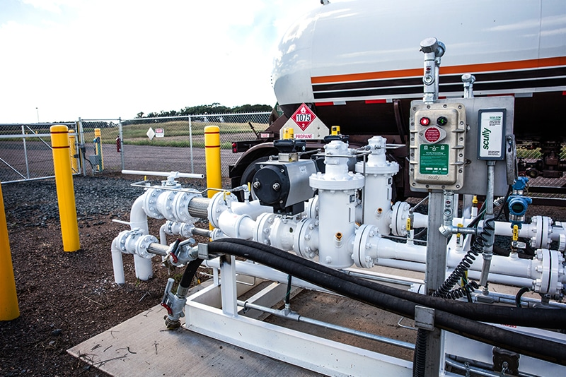 terminal modifications propane by Westmor