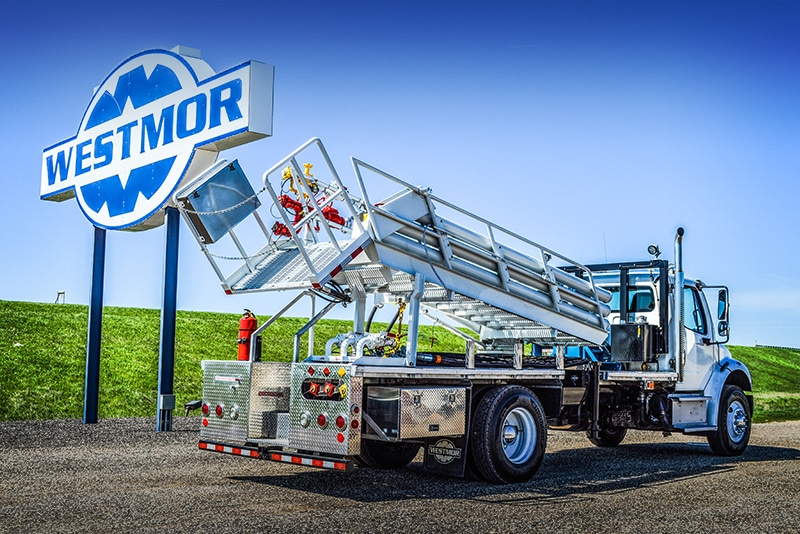 Chassis-Mounted Transloader by Westmor Industries