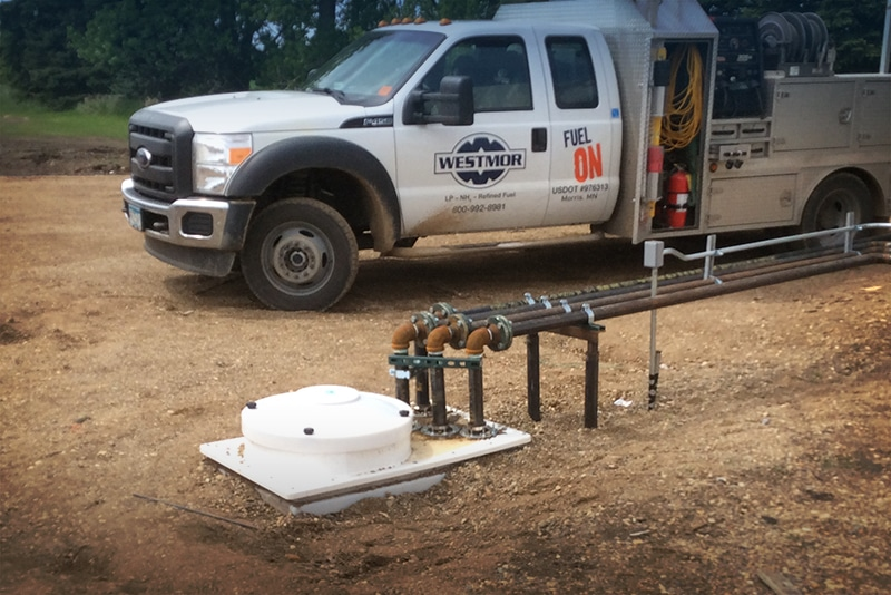 Underground Tank Monitoring System | Westmor